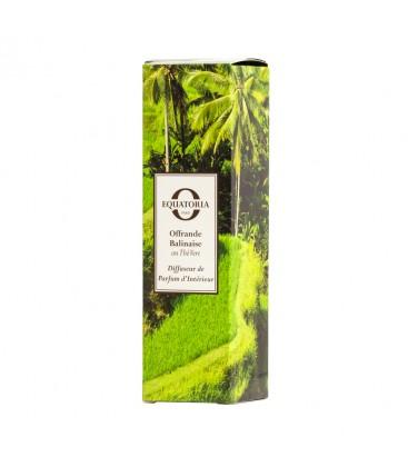 Diffuseur de Parfum Offrande Balinaise au Thé Vert