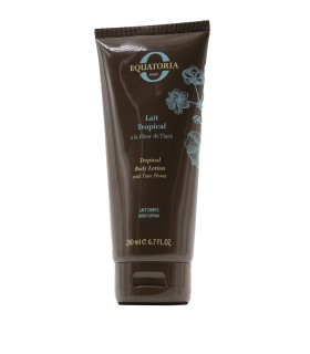 TROPICAL BODY LOTION WITH TIARE FLOWER